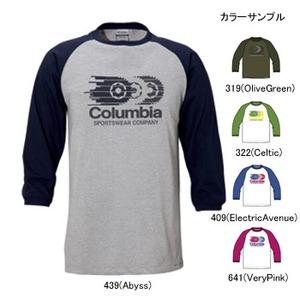 Columbia(コロンビア) フォーカー3/4Tシャツ M 322(Celtic)