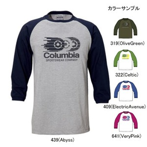 Columbia(コロンビア) フォーカー3/4Tシャツ S 409(ElectricAvenue)