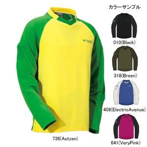 Columbia(コロンビア) シフトVネックTシャツ L 409(ElectricAvenue)