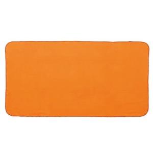 BUNDOK(バンドック) ブランケットクッション オレンジ×カーキ