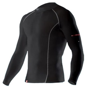 2XU(ツー・タイムズ・ユー) Compression L/S Top Men's XS Black×Black