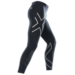 2XU(ツー・タイムズ・ユー) Compression Tights Men's L Black×Black