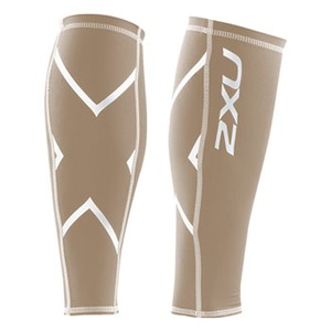2XU(ツー・タイムズ・ユー) Compression Calf Guard L Beige×Beige