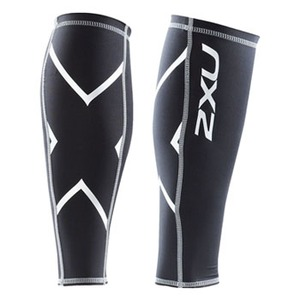 2XU(ツー・タイムズ・ユー) Compression Calf Guard XS Black×Black