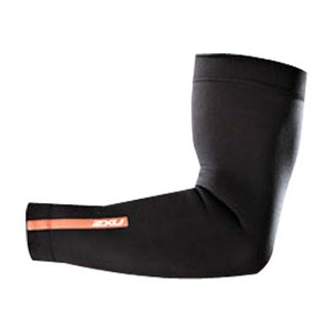 2XU(ツー・タイムズ・ユー) Compression Arm Sleeves XL Black×Black