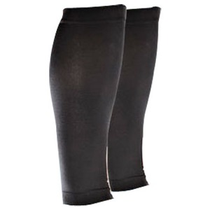 2XU(ツー・タイムズ・ユー) Compression Calf Sleeves L Black×Black