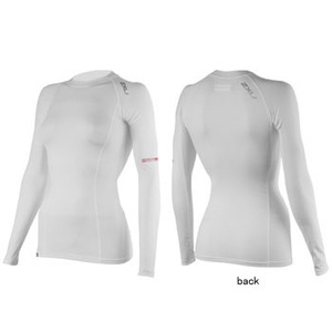 2XU(ツー・タイムズ・ユー) Compression L/S Top Women's M White×White