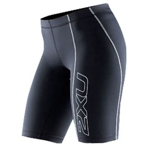 2XU(ツー・タイムズ・ユー) Compression Short Women's XL Black×Black