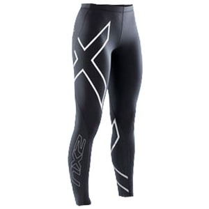 2XU(ツー・タイムズ・ユー) Thermal Compression Tights Women's L Black×Black