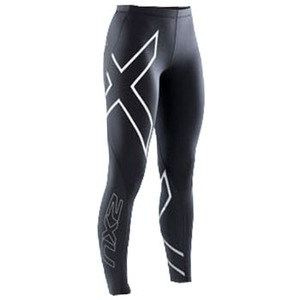 2XU(ツー・タイムズ・ユー) Thermal Compression Tights Women's XXL Black×Black