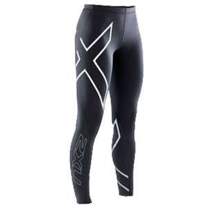 2XU(ツー・タイムズ・ユー) Compression Tights Women's L Black×Black