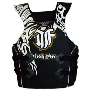 J-FISH プロライフベスト L(USA) BLACK
