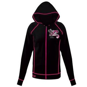 J-FISH クイーンラッシュパーカー Women's L BLACK×PINK