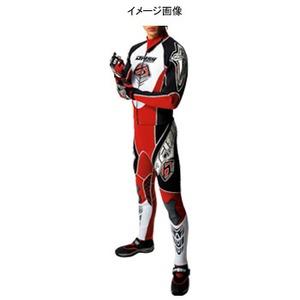 J-FISH エボリューションウェットスーツ Men's M BLACKxRED
