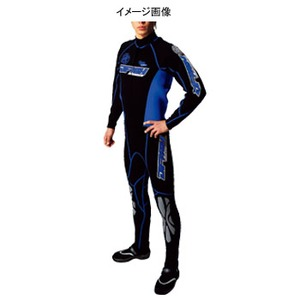 J-FISH アドバンスウェットスーツ Men's LB BLACK×ROYAL