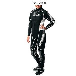 J-FISH アドバンスウェットスーツ Women's S BLACK×WHITE