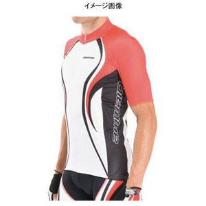 Biemme(ビエンメ) Carboion Shape Jersey Men's L White×Red