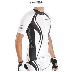 Biemme(ビエンメ) Carboion Shape Jersey Men's L White×Black