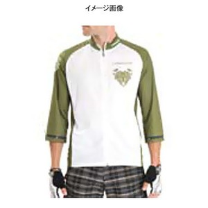 Biemme(ビエンメ) Freeride Jersey Men's M White×Green