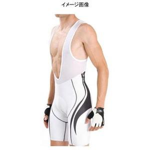 Biemme(ビエンメ) Carboion Shape Bibshorts Men's XL White×Black