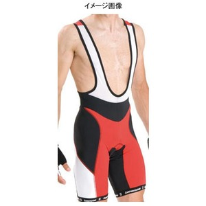 Biemme(ビエンメ) Specialine Bibshorts Men's M Black×Red×White