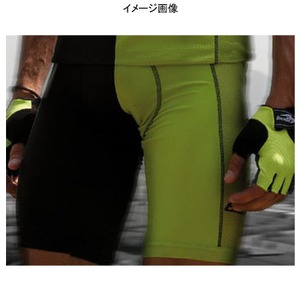 Biemme(ビエンメ) Breeze Bibshorts Men's M Black×Green
