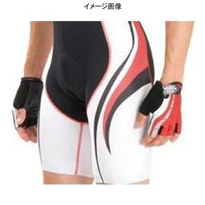 Biemme(ビエンメ) Carboion Shape Shorts Men's XL White×Red