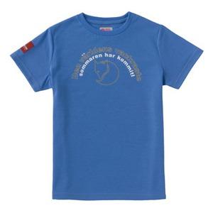 FJALL RAVEN(フェールラーベン) PPSU レディースTシャツ L 78(コバルト)