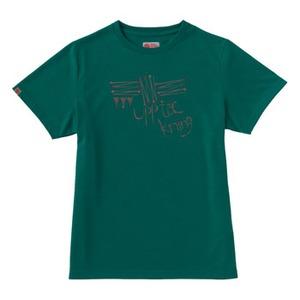 FJALL RAVEN(フェールラーベン) PPSU レディースTシャツ S 50(グリーン)