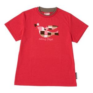 FJALL RAVEN(フェールラーベン) PPSU レディースTシャツ L 20(レッド)