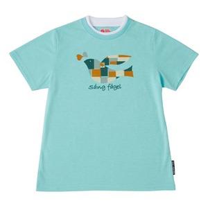 FJALL RAVEN(フェールラーベン) PPSU レディースTシャツ L 62(ターコイズ)