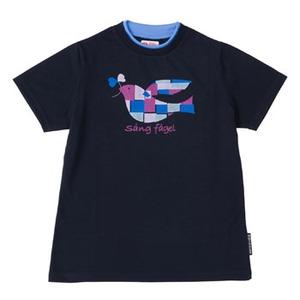 FJALL RAVEN(フェールラーベン) PPSU レディースTシャツ S 70(ネイビー)