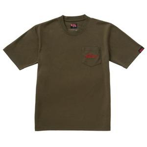 FJALL RAVEN(フェールラーベン) トランスアクアTシャツ L 43(オリーブ)