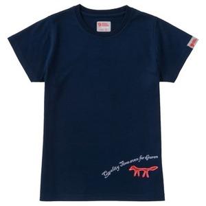 FJALL RAVEN(フェールラーベン) トランスアクアレディースTシャツ M 70(ネイビー)