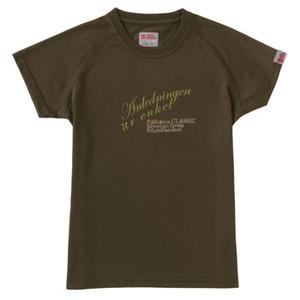 FJALL RAVEN(フェールラーベン) トランスアクアレディースTシャツ M 43(オリーブ)