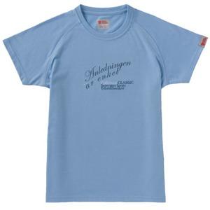 FJALL RAVEN(フェールラーベン) トランスアクアレディースTシャツ L 75(サックス)