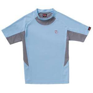 FJALL RAVEN(フェールラーベン) エアーフローピケTシャツ L 75(サックス)