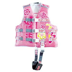getup cute(ゲットアップ キュート) ライフベスト Kid's L ピンク