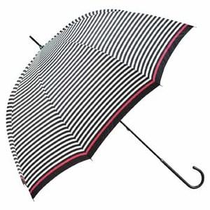 totes(トーツ) ブレラスリムウォーカー stripe BK×WH(ブラック×ホワイト)