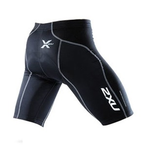 2XU(ツー・タイムズ・ユー) Elite Cycle Short Men's L Black×Black