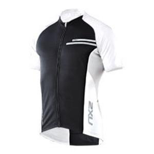 2XU(ツー・タイムズ・ユー) Comp Cycle Jersey Men's M Black×White