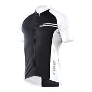 2XU(ツー・タイムズ・ユー) Comp Cycle Jersey Men's XXL Black×White