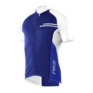 2XU(ツー・タイムズ・ユー) Comp Cycle Jersey Men's XS Royal Blue×Dusk