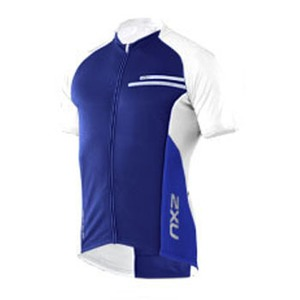 2XU(ツー・タイムズ・ユー) Comp Cycle Jersey Men's L Royal Blue×Dusk