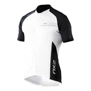 2XU(ツー・タイムズ・ユー) Comp Cycle Jersey Men's M White×Grey