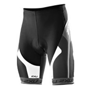 2XU(ツー・タイムズ・ユー) Sublimated Cycle Short Men's M Black×Pigeon