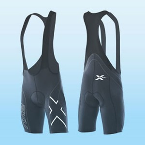 2XU(ツー・タイムズ・ユー) Compression Cycle Bib Short Men's XS Black×Black