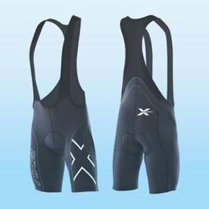 2XU(ツー・タイムズ・ユー) Compression Cycle Bib Short Men's S Black×Black