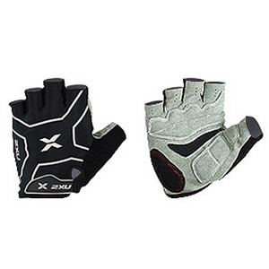 2XU(ツー・タイムズ・ユー) Comp Cycle Glove Men's M Black×Black