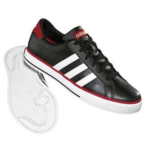 adidas(アディダス) デイリーバルカ 25.5cm ブラック×ランニングホワイト×カレッジレッド